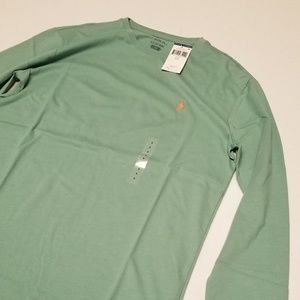Polo long sleeve tee